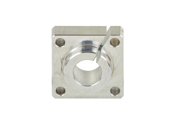 drylin® R - flanged shaft end block WAF