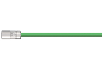 readycable® pulse encoder cable acc. to Baumüller standard 198962 (3 m), pulse encoder base cable PUR 7.5 x d