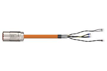 readycable® servo cable suitable for Elau E-MO-113 SH-Motor 2.5, base cable PVC 10 x d