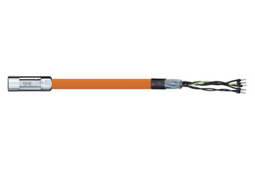 readycable® motor cable acc. to Parker standard iMOK43, base cable PVC 15 x d