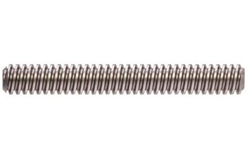 drylin® trapezoidal lead screw, right-hand thread, C15 1.0401 steel