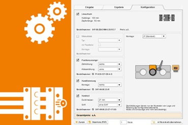 Configurator for drive technology