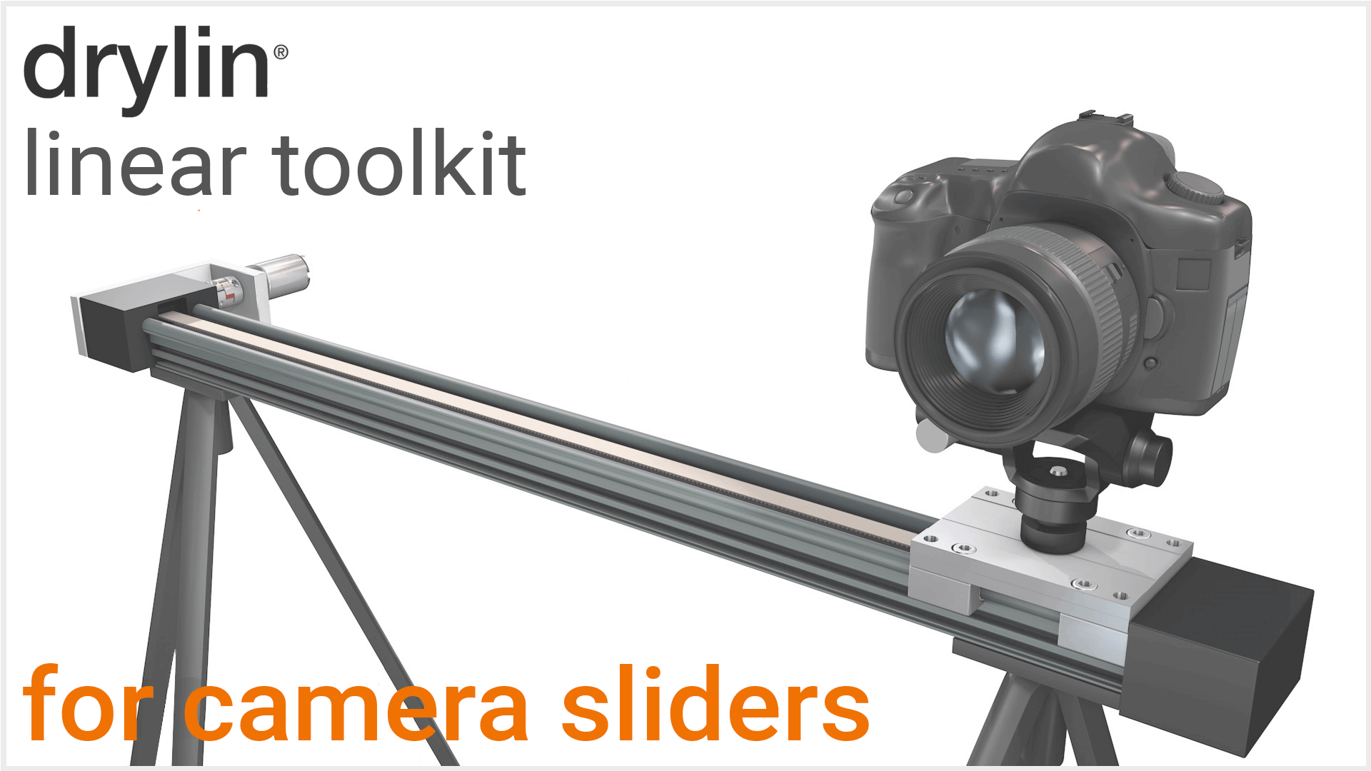 igus® Slider for camera and movie technology